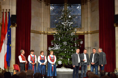 Internationales Adventsingen Wiener Rathaussaal
